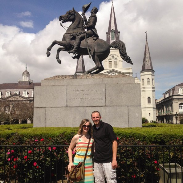 Jackson Square, French Quarter, NEW ORLEANS!